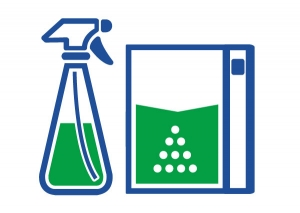 Seacole Liquid And Powder Packaging Icon