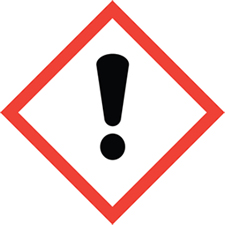 exclamation point_hazardous materials symbol