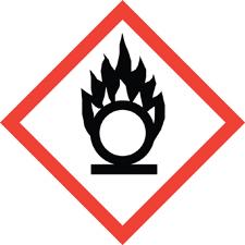 Oxidizers_hazardous materials symbol