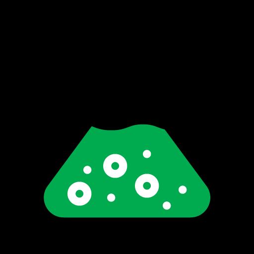 Flask Algae 2